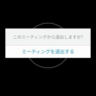 AndroidでZoomアプリ6